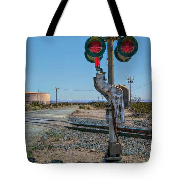 The Railway Crossing Tote Bag