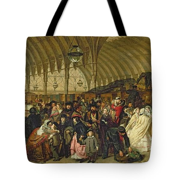 The Railway Station Tote Bag