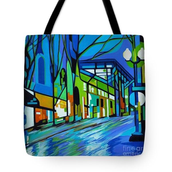 The Rain Song Tote Bag