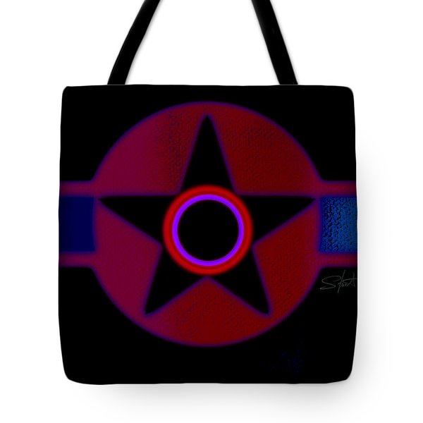 The Rainbow In Reverse Tote Bag by Charles Stuart