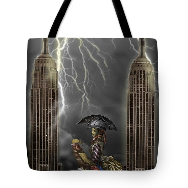 The Rainmaker Tote Bag by Larry Butterworth