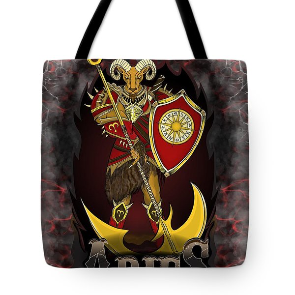 The Ram Aries Spirit Tote Bag