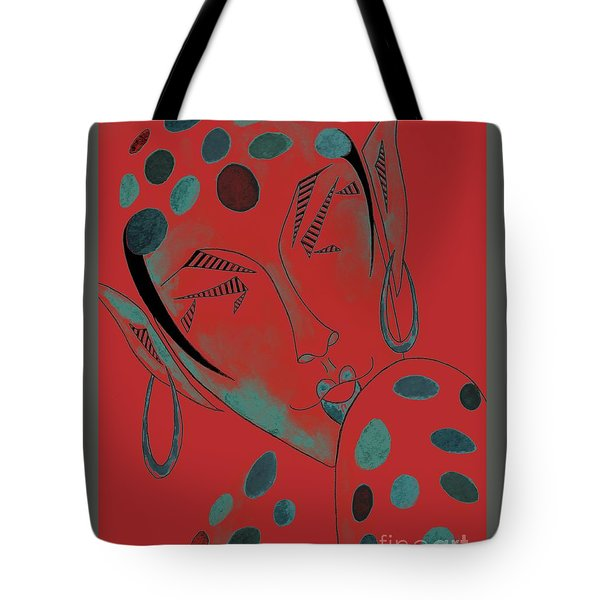 The Rare Green-spotted Elf Tote Bag