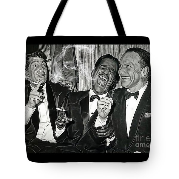 The Rat Pack Collection Tote Bag