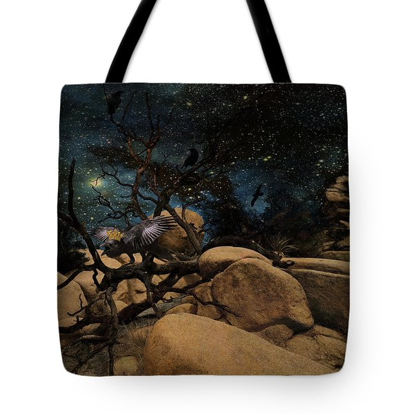 The Raven King Tote Bag