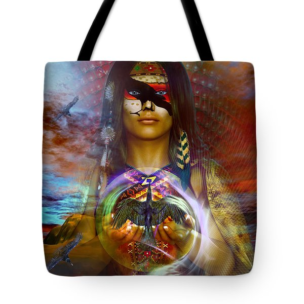 the RAVEN  spirit Tote Bag