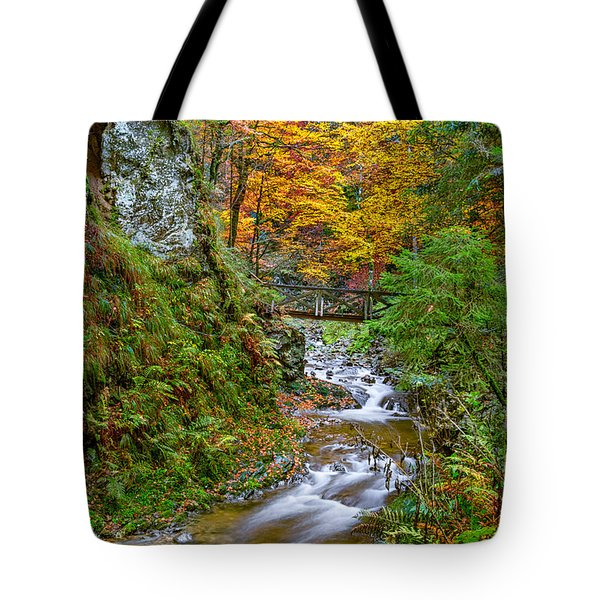Cascades And Waterfalls Tote Bag