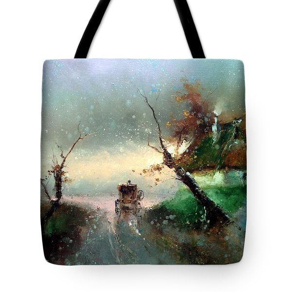 The Rays Of The Morning Sun Tote Bag