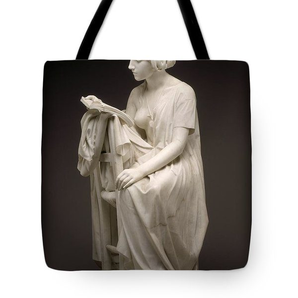The Reading Girl - La Leggitrice Tote Bag