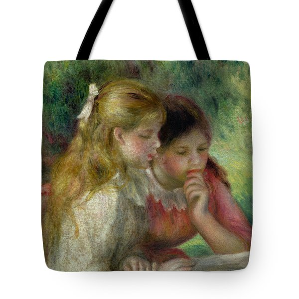 The Reading Tote Bag