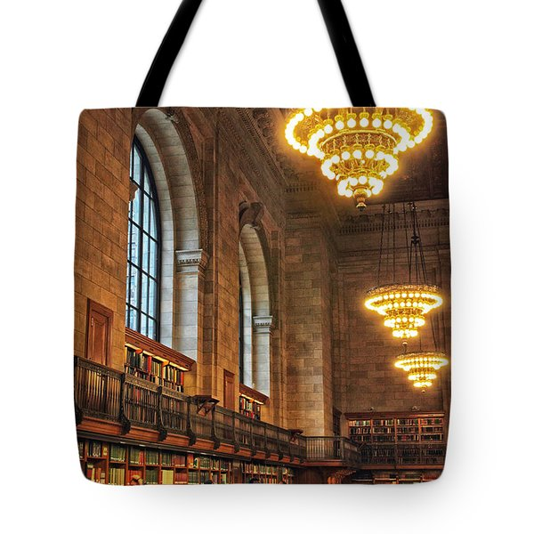 Tote Bag featuring the photograph The Reading Room by Jessica Jenney