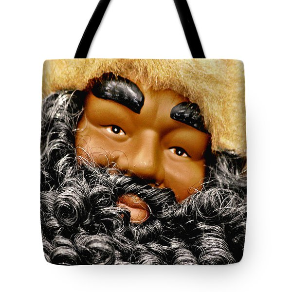 The Real Black Santa Tote Bag