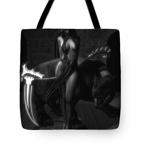 The Reaper Tote Bag by Alexander Butler