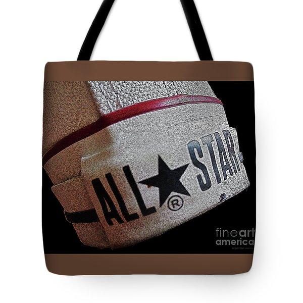The Converse All Star Rear Label. Tote Bag by Don Pedro De Gracia