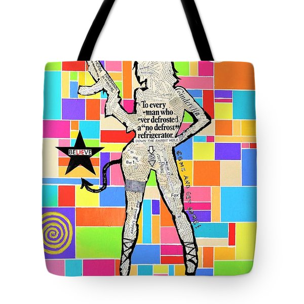The Rebel Tote Bag by Jeremy Aiyadurai