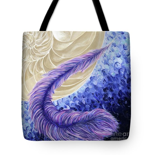 The Rebellous Feather Tote Bag