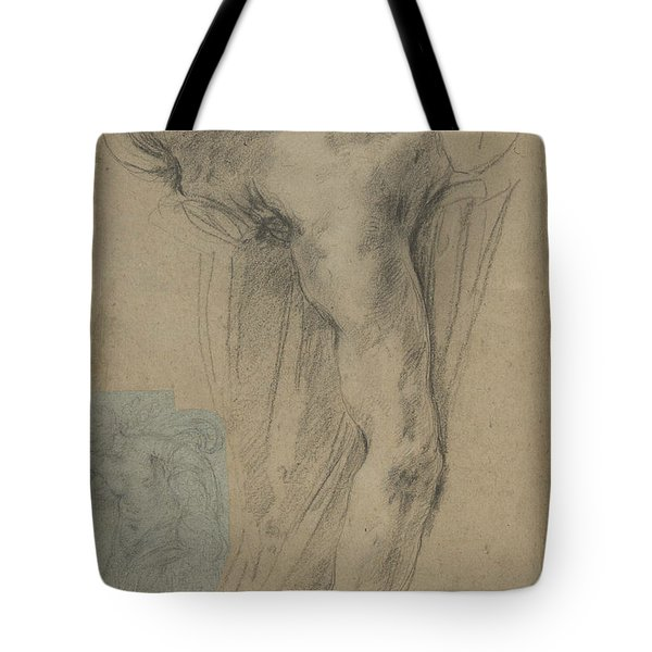 The Reclining Headless Body Of Holofernes Tote Bag