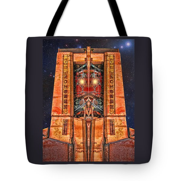 The Recycled King Tote Bag