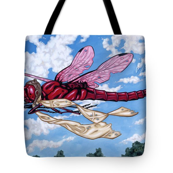 The Red Baron Tote Bag