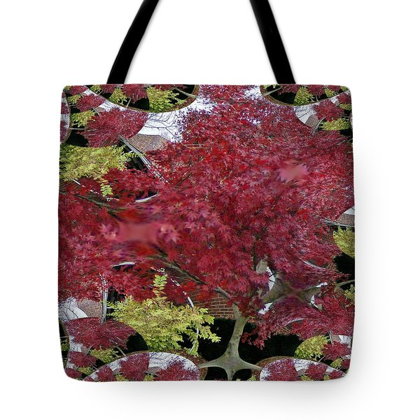 Tote Bag featuring the photograph The Red Bushes by Skyler Tipton