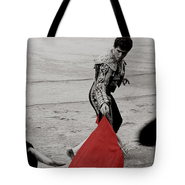The Red Cape Tote Bag