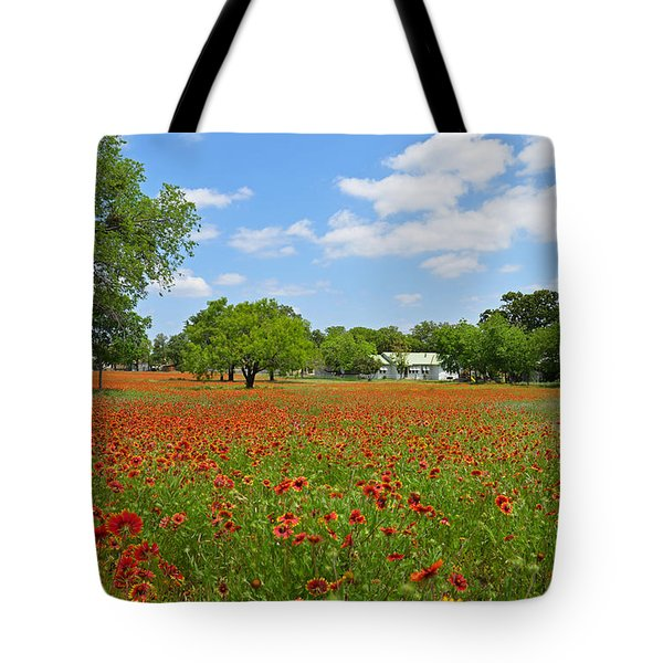 The Red Carpet Tote Bag