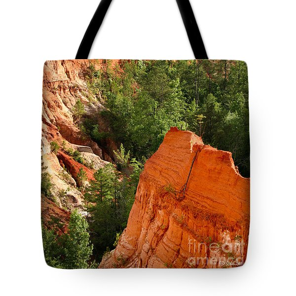 The Red Dirt Of Georgia Tote Bag