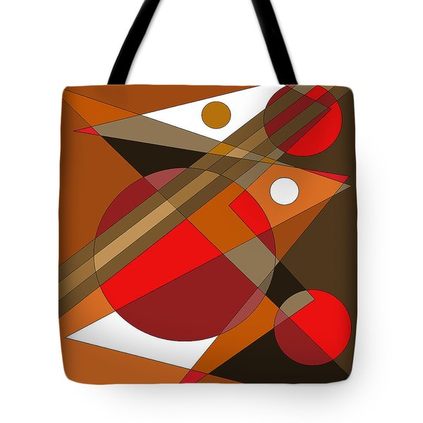 The Red Eye Tote Bag