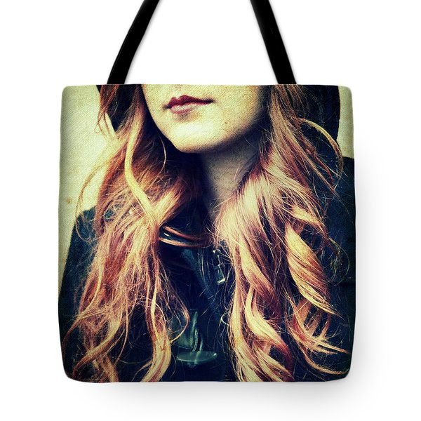 The Red-haired Girl Tote Bag
