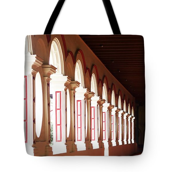 The Red Hall Tote Bag