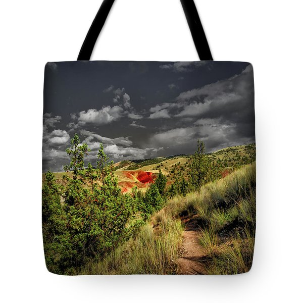 The Red Hill Tote Bag