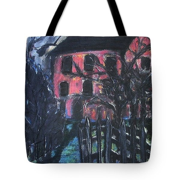 The Red House Tote Bag