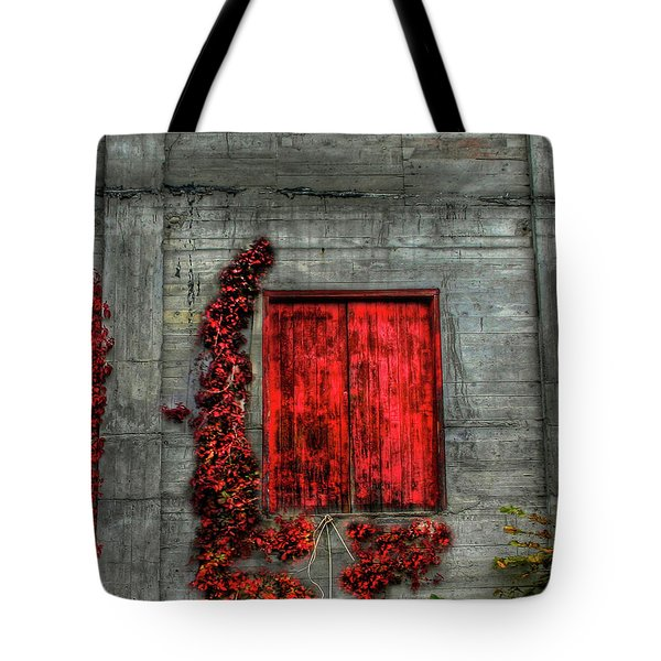 The Red Loft Tote Bag