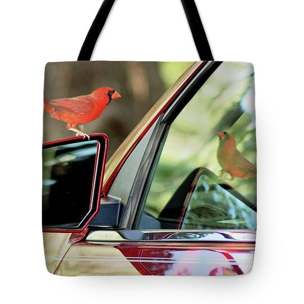 The Red Menace Tote Bag