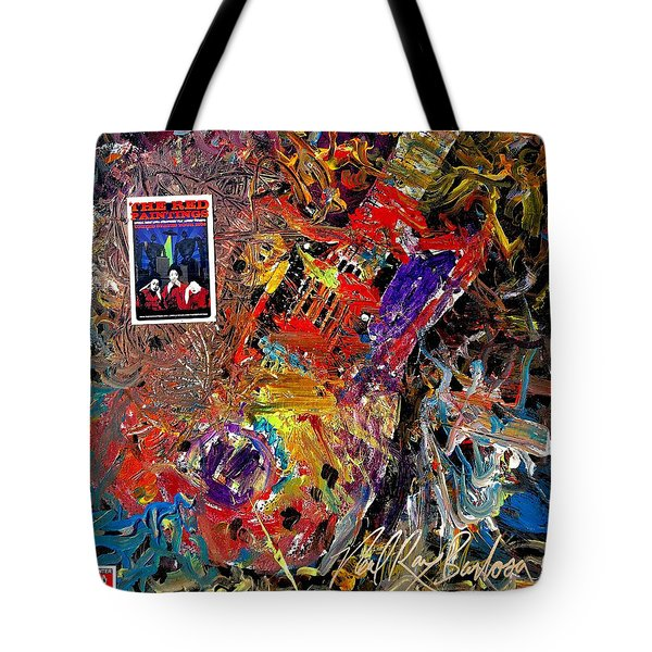 The Red Paintings Tote Bag