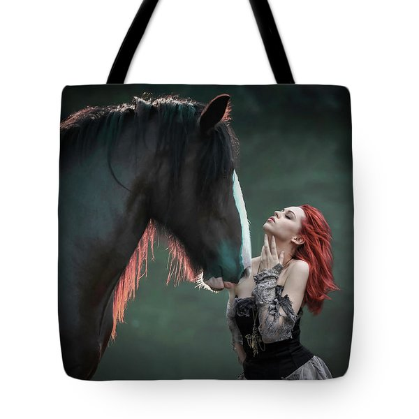 The Red Princess Tote Bag