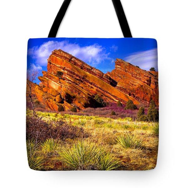 The Red Rock Park Vi Tote Bag