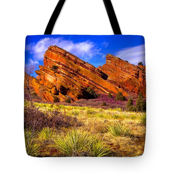 The Red Rock Park Vi Tote Bag