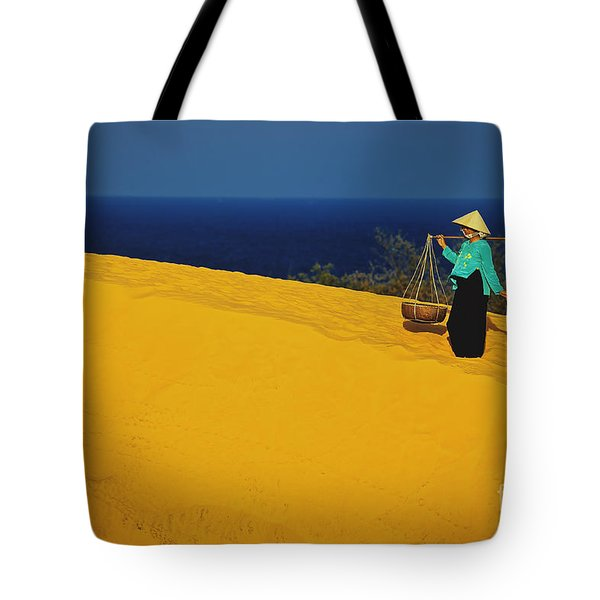 The Red San Dunes Of Mui Ne Vietnam Tote Bag