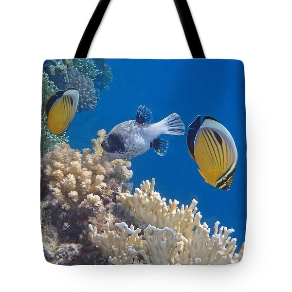 The Red Sea Underwater World Tote Bag