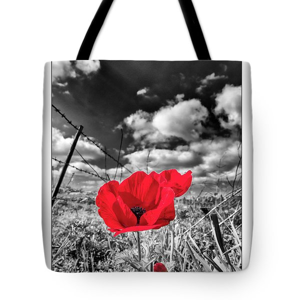 The Red Spot Tote Bag