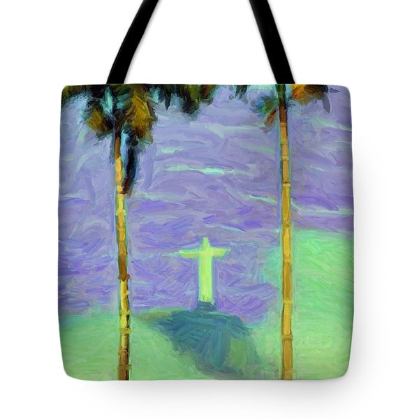 The Redeemer Tote Bag