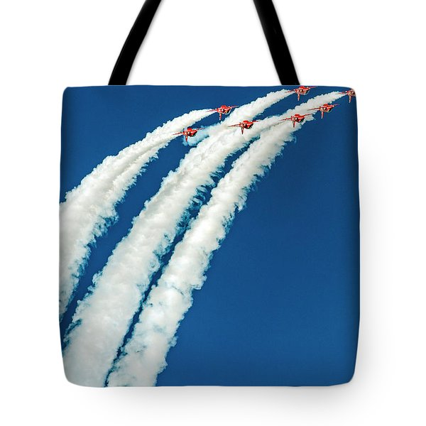 Tote Bag featuring the photograph The Reds  by Cliff Norton