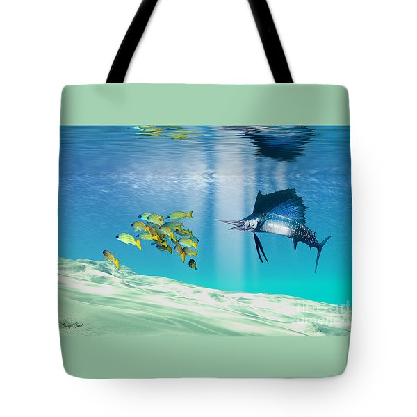 The Reef Tote Bag by Corey Ford