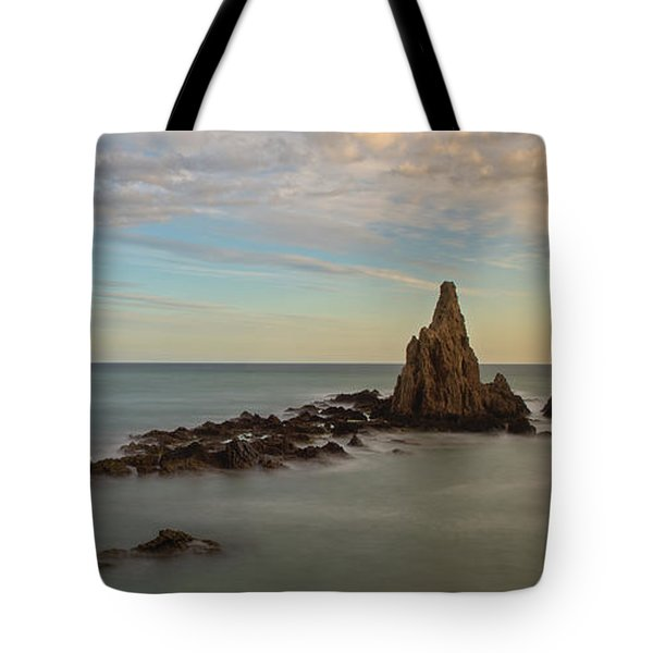 The Reef Of The Cape Sirens At Sunset Tote Bag