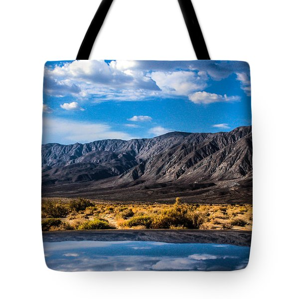 The Reflection On The Roof Tote Bag