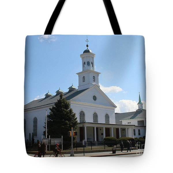 The Reformed Church Of Newtown- Tote Bag