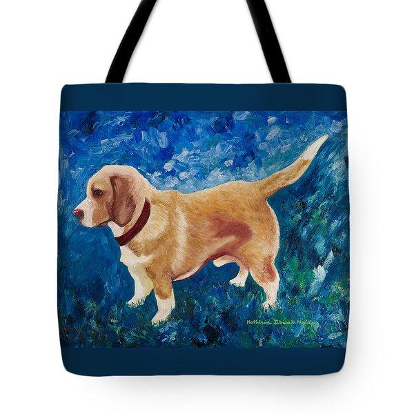 The Regal Beagle Tote Bag