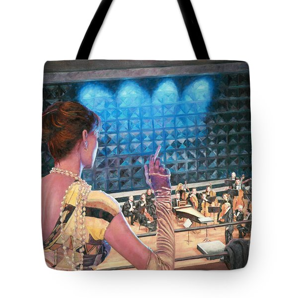 The Rehearsal Tote Bag by Theo Michael