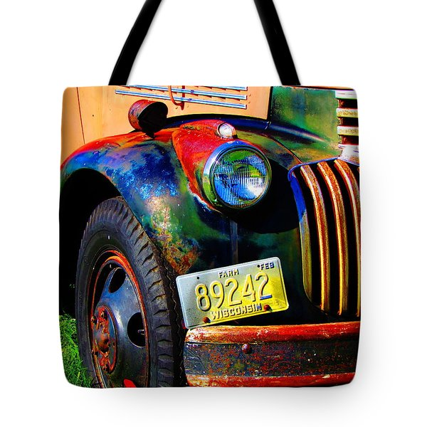 Tote Bag featuring the photograph The Relic by John Hartman